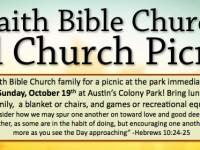 web banner picnic